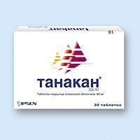 ТАНАКАН, таблетки