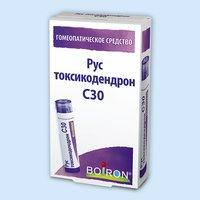 Рус токсикодендрон, гранулы