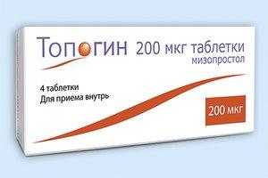 ТОПОГИН, таблетки