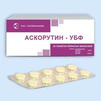 АСКОРУТИН-УБФ, таблетки