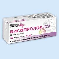 Бисопролол-СЗ, таблетки