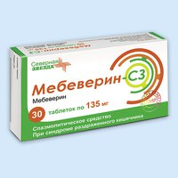 МЕБЕВЕРИН-СЗ, таблетки