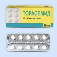 ТОРАСЕМИД, таблетки