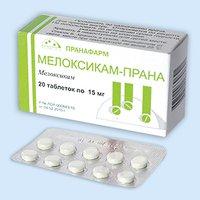 МЕЛОКСИКАМ-ПРАНА, таблетки