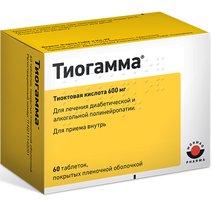 ТИОГАММА, таблетки