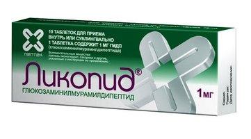 ЛИКОПИД, таблетки