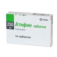 АТИФИН, таблетки