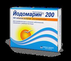 ЙОДОМАРИН 200, таблетки