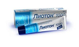 ЛИОТОН 1000, гель