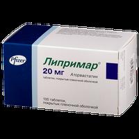 ЛИПРИМАР, таблетки