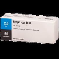 ЛЕТРОЗОЛ-ТЕВА, таблетки