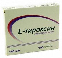 L-ТИРОКСИН, таблетки