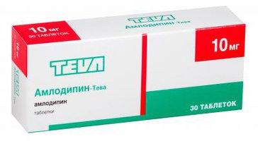 АМЛОДИПИН-ТЕВА, таблетки
