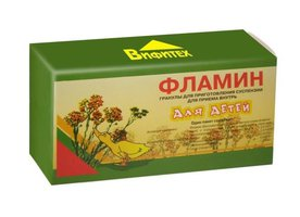 ФЛАМИН, гранулы