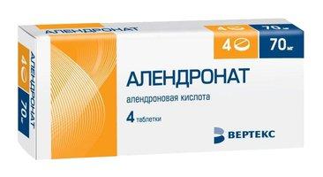 АЛЕНДРОНАТ, таблетки
