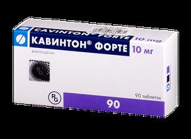 КАВИНТОН ФОРТЕ, таблетки