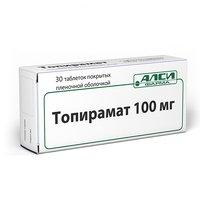 ТОПИРОМАТ, таблетки
