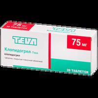 КЛОПИДОГРЕЛ-ТЕВА, таблетки