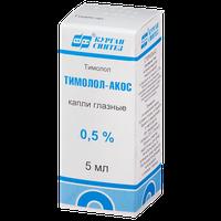 ТИМОЛОЛ-АКОС, капли