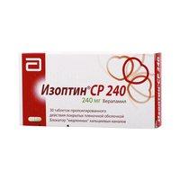 ИЗОПТИН СР 240, таблетки