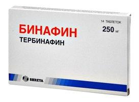 БИНАФИН, таблетки