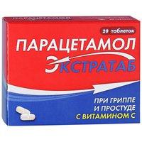 ПАРАЦЕТАМОЛ ЭКСТРАТАБ, таблетки
