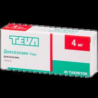 ДОКСАЗОЗИН-ТЕВА, таблетки