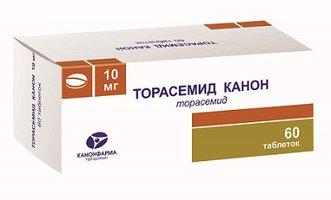 ТОРАСЕМИД КАНОН, таблетки