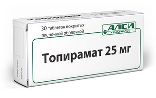 ТОПИРАМАТ, таблетки