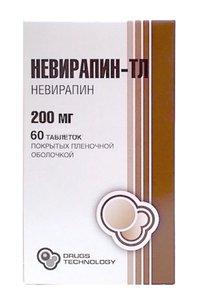 НЕВИРАПИН-ТЛ, таблетки