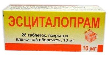 ЭСЦИТАЛОПРАМ, таблетки