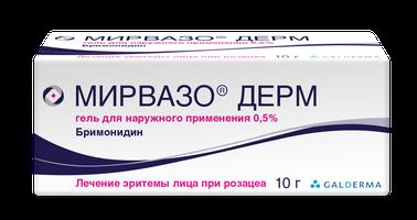 МИРВАЗО ДЕРМ, гель