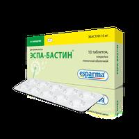 ЭСПА-БАСТИН, таблетки