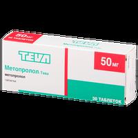МЕТОПРОЛОЛ-ТЕВА, таблетки