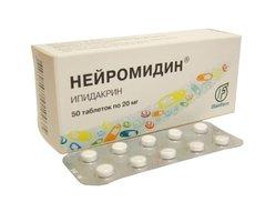 НЕЙРОМИДИН, таблетки