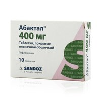 АБАКТАЛ, таблетки