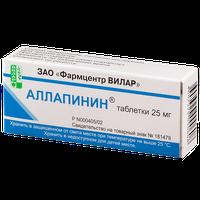 АЛЛАПИНИН, таблетки