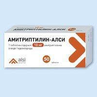 Амитриптилин-АЛСИ, таблетки
