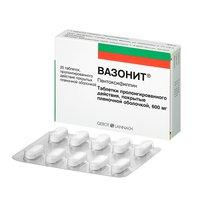 ВАЗОНИТ, таблетки