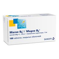 МАГНЕ B6, таблетки