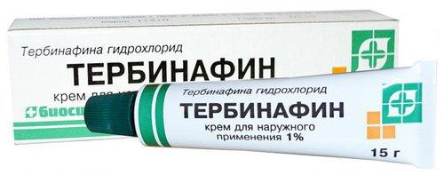 ТЕРБИНАФИН, крем