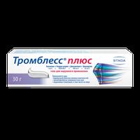 ТРОМБЛЕСС ПЛЮС, гель