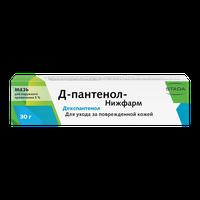 Д-ПАНТЕНОЛ-НИЖФАРМ-ПЛЮС, крем