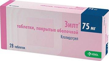ЗИЛТ, таблетки