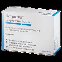 ЦЕТРОТИД, лиофилизат