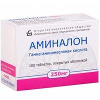 АМИНАЛОН, таблетки