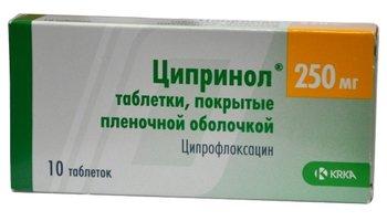 ЦИПРИНОЛ, таблетки