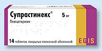СУПРАСТИНЕКС, таблетки