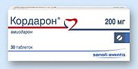 КОРДАРОН, таблетки