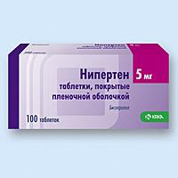 НИПЕРТЕН, таблетки